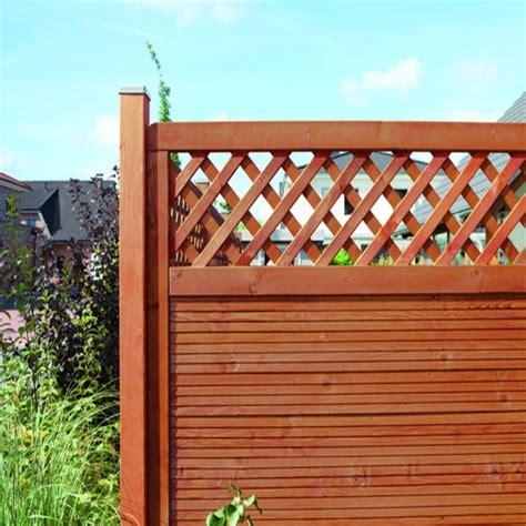 Zaun Mit Sichtschutz 202 by Sichtschutzzaun Holz Lasiert Bvrao