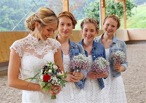 Frisuren Für Hochzeitsgäste Lange Haare by Best Of Brautjungfern Frisur Grafiken