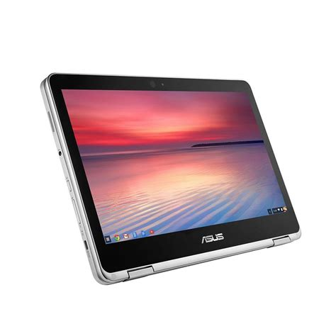 Asus Flip Convertible Laptop asus chromebook flip c302ca 12 5 quot convertible laptop intel m3 6y30 4gb ram 64gb emmc