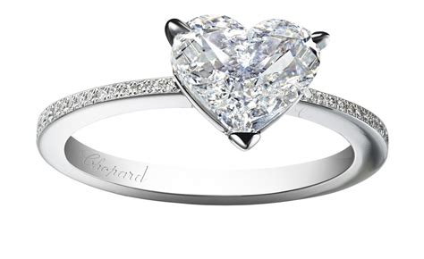 forever pav 233 cut engagement ring chopard