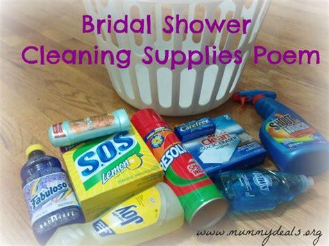 household gifts bridal shower poem on pinterest