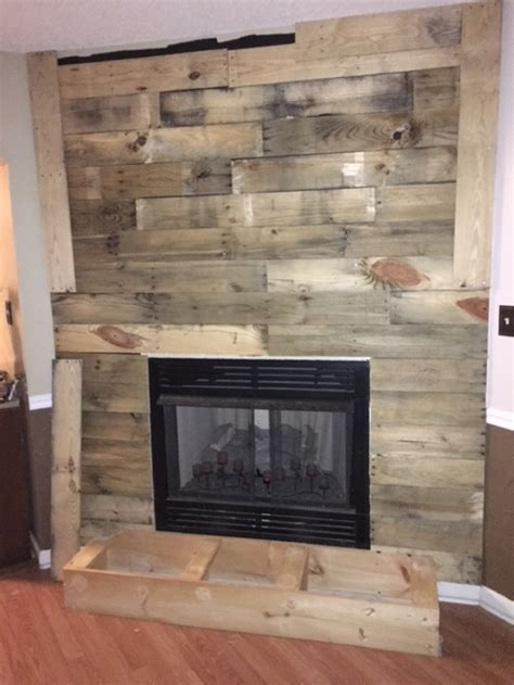 fireplace ideas diy diy pallet wall fireplace pallet ideas recycled