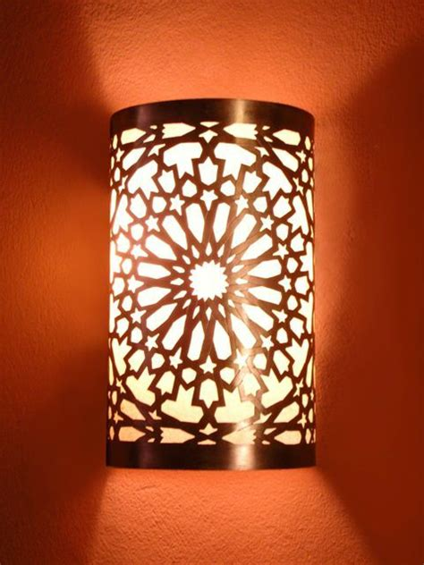 Moroccan Wall Sconce Moroccan Wall Light Wall Sconce Chiselled Pattern Moroccan Arts And Crafts