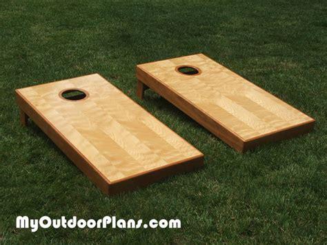 corn plans woodworking plans diy board myoutdoorplans free woodworking