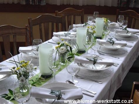 Hochzeitstafel Deko by Hochzeitsfloristik 187 Blumenwerkstatt Klara Kwas Blumen