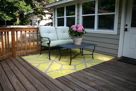 outdoor area rugs for decks how to paint an outdoor area rug checking in with chelsea