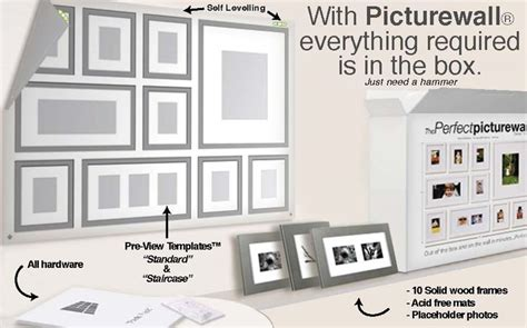 this is brilliant picture wall template decor home