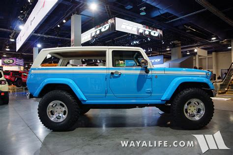 1970 Jeep Chief 2015 Sema Mopar Jeep Chief Concept