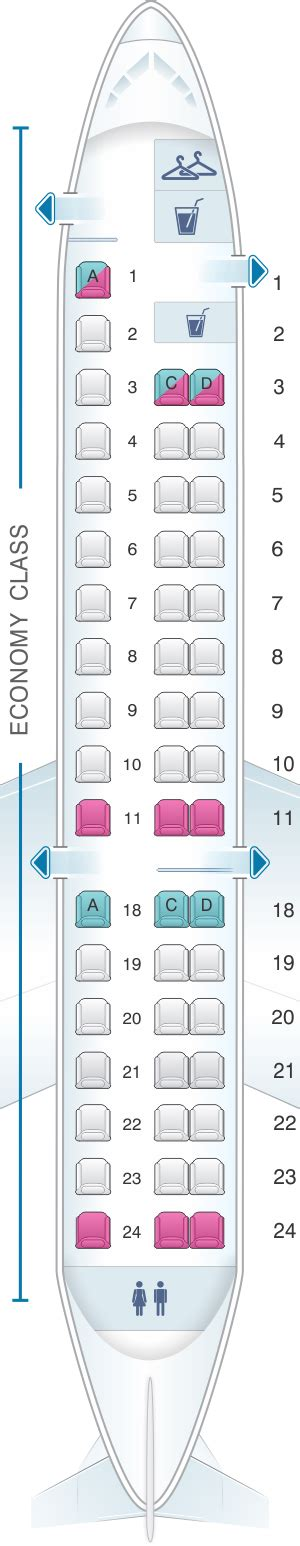 embraer erj 175 seat map seat map united airlines embraer emb 145 er4 erj