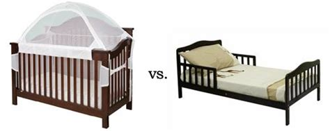Crib Mattress Vs Toddler Mattress Crib Tent Vs Toddler Bed