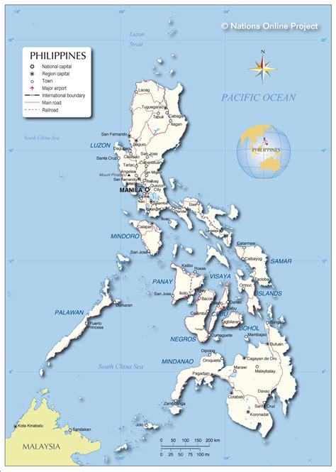 philippine map philippines
