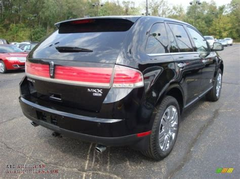 2008 lincoln mkx limited edition 2008 lincoln mkx limited edition awd in black clearcoat