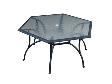 Set Hexagon hexagon patio set outdoor goods