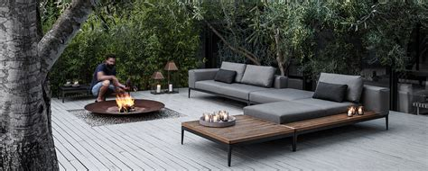 contemporary outdoor furniture sale gloster grid