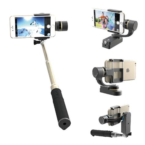Feiyu Tongsis Smartstab 2 Axis Stabilizer Selfie Gimbal Diskon aliexpress buy for iphone 7 feiyu fy smartstab both wearable and handheld stabilizer 2