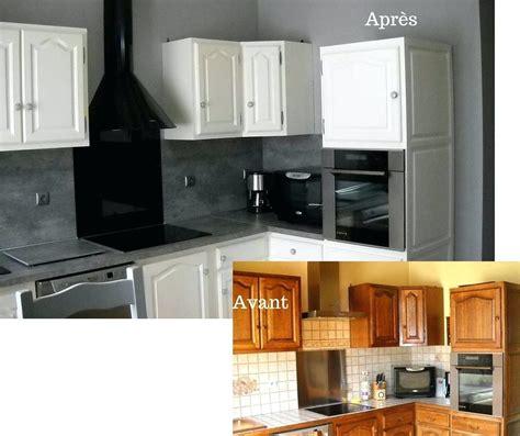Peinture Meuble Cuisine Avant Apres by Cuisine Avant Apres Renovation Cuisine Rustique Avant Apres