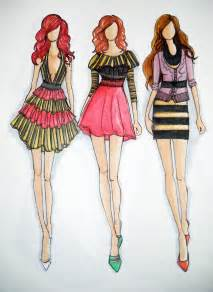 design fashion drawing glamorous fashion sketches and illustrations best 50