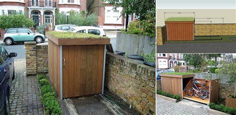 build  bike storage shed   roofing