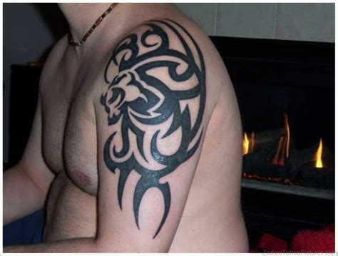 lion tribal tattoo 47 cool leo tattoos on shoulder