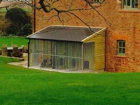 Slate roof kennels   The Wooden Workshop   Oakford, Devon