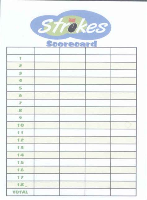 score cards templates golf scorecard template golf scorecard template v1 golf