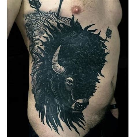 buffalo tattoo designs best 25 buffalo ideas on bison