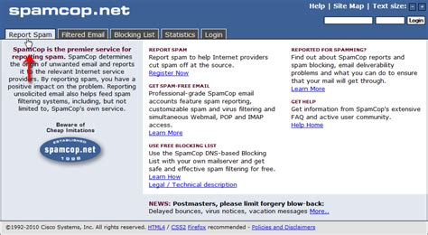 How To Report Spam Email To by Getting Much Spam How To Permanently Stop Spam With Spamcop Inmotion Hosting