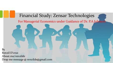 email zensar managerial economics case study zensar technologies