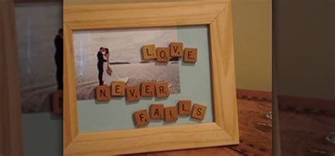 Hacks For Home Design Game by How To Customize A Picture Frame With Scrabble Letters