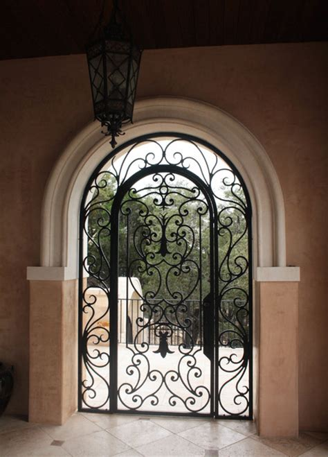 iron gate for front door iron door gate with transom front doors other metro