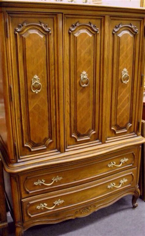 thomasville french provincial bedroom set vintage french provincial armoire by thomasville on etsy