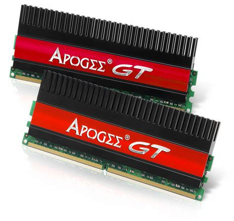 Ram Ddr2 Apogee chaintech introduces apogee gt ddrii 800 cl4 memory modules techpowerup forums