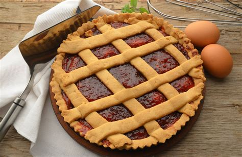 cucinare crostata ricetta crostata alla marmellata dolce cucinare