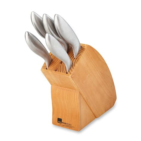direct knives wooden knife block set newstyle direct