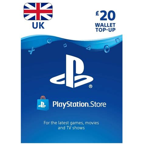 Playstation Store 20 Gift Card - psn card 20 163 for uk ps account only ps4 ps3 psvita