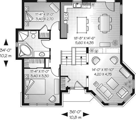 Bath Shower Sets huntleigh downs european home plan 032d 0672 house plans