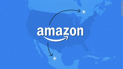 amazon canada amazon could put its second hq in canada but will it