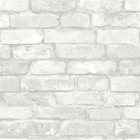 grey wallpaper the range nuwallpaper grey and white brick peel and stick wallpaper