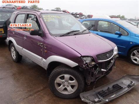Sparepart Terios daihatsu terios breakers daihatsu terios spare car parts