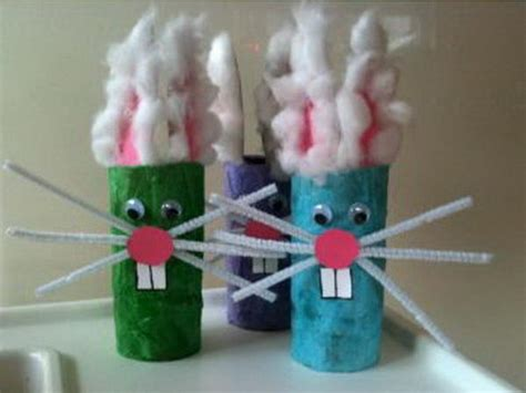 Easter Craft Ideas With Toilet Paper Rolls - easter craft ideas for hative
