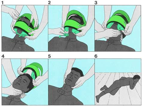 Motorradunfall Helm by Helmabnahme Beim Bewu 223 Tlosen Motorradfahrer Erste Hilfe