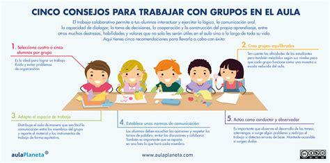se puede usar cialis y juntos infograf 205 a 5 consejos para trabajar con grupos en el aula