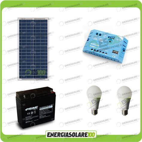 kit illuminazione solare kit illuminazione pannello solare 30w 12v 5 ore stalle