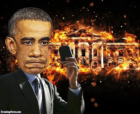 the house was on fire barack obama sets white house on fire pictures freaking news