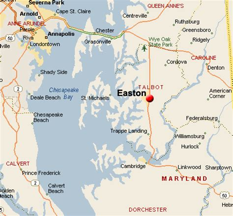 Maryland Real Search Easton Maryland Map View Map In Easton Maryland Search Real Estate Listings