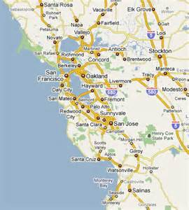 San Francisco Area Map by Kiddo World Kids Birthday Party Entertainment Service