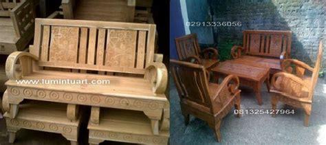 Depan Jati Minimalis Ukiran Jepara set kursi tamu minimalis kayu jati jepara ukiran cincin set ud lumintu gallery furniture
