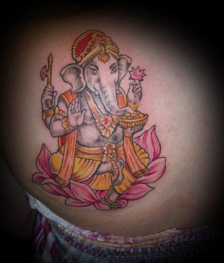 ganesh tattoo nyc ganesh by travis aanensen tattoonow