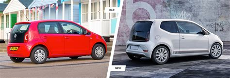 Neues Styling by Volkswagen Up Facelift Vs New Compared Carwow