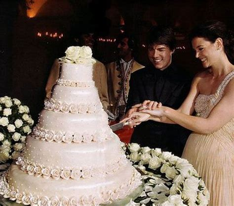 Tom Cruise Grows In Wedding Photo by Tom Cruise And Wedding Cake